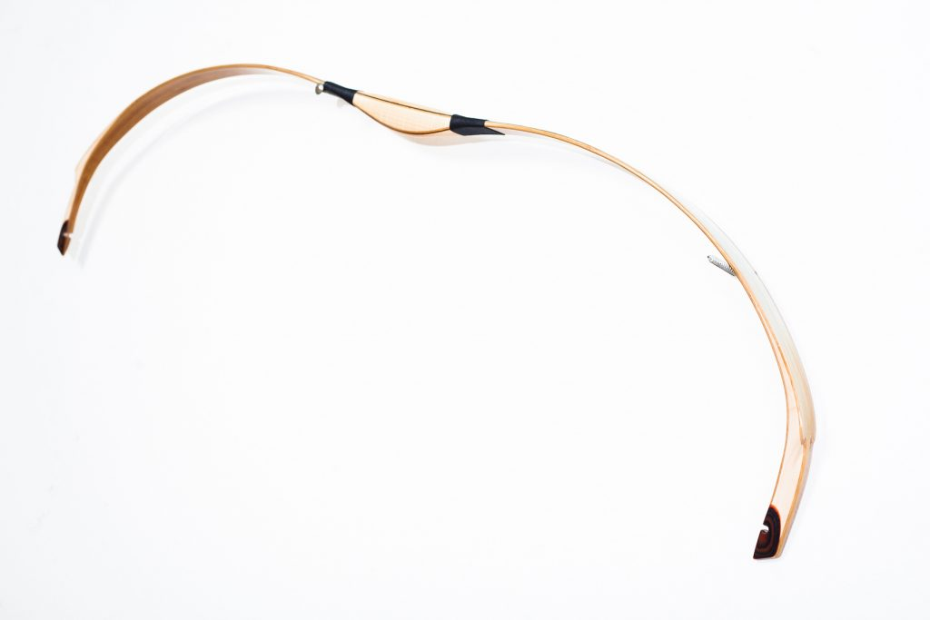 Laminated Assyrian recurve bow