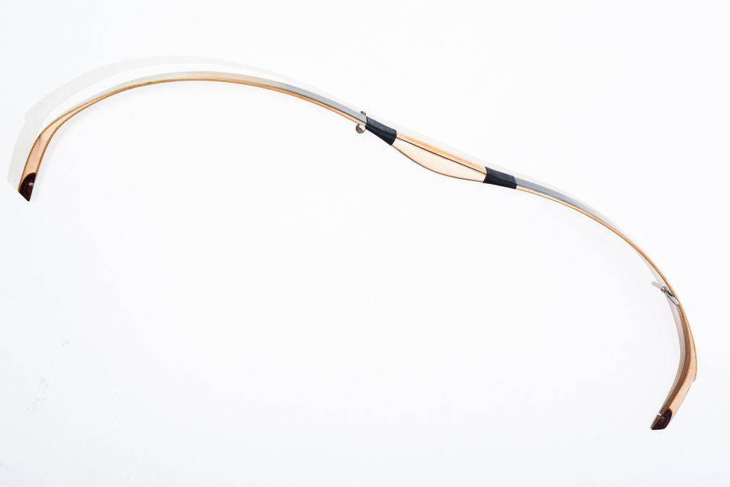 Biocomposite Assyrian recurve bow