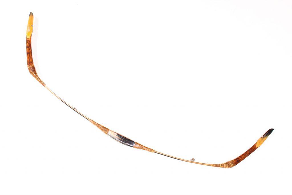 Biocomposite Hungarian recurve bow